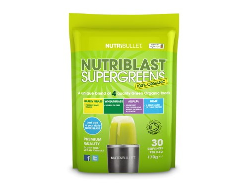 NutriBlast SuperGreens Směs superpotravin do smoothie