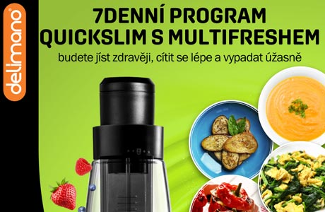 7 Denní program Quickslim s Multifreshem