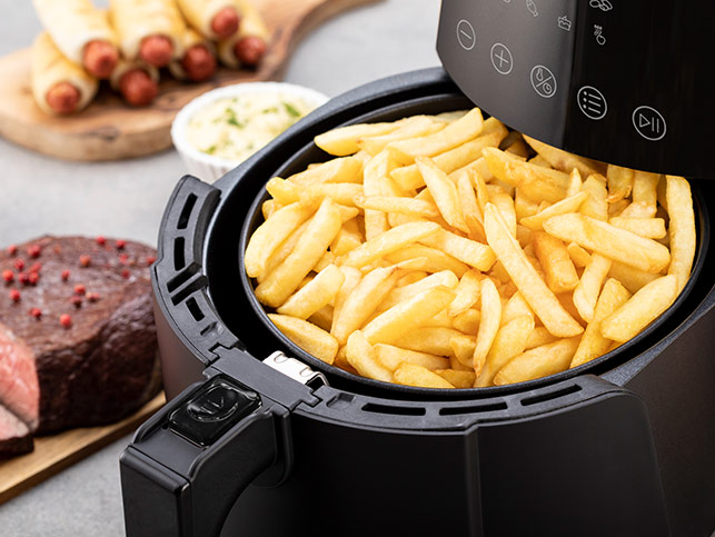 Delimano Air Fryer DELUXE Noir